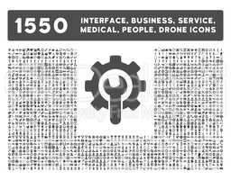 Interface, Business, Tools, People, Medical, Awards Glyph Icons