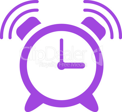 Violet--alarm clock ring.eps
