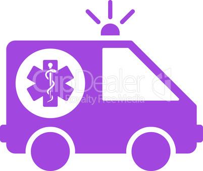 Violet--ambulance car.eps