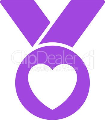 Violet--charity medal.eps
