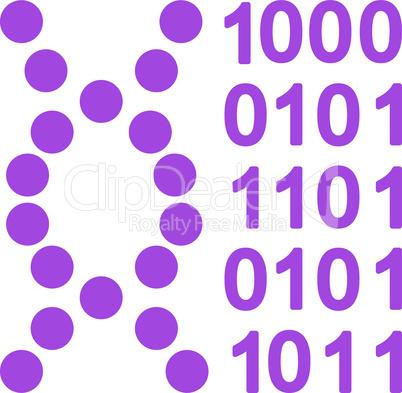 Violet--dna code.eps