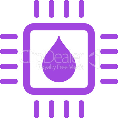 Violet--drop analysis chip.eps