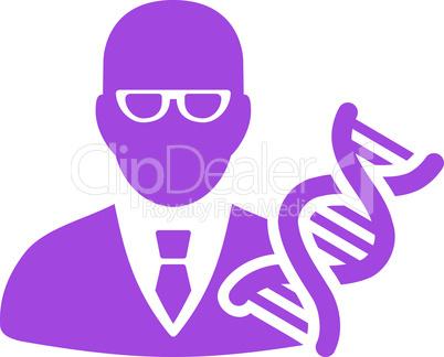Violet--genetic engineer.eps