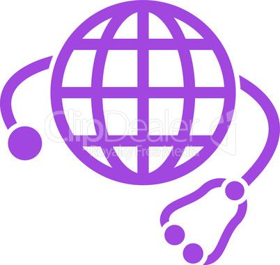 Violet--global medicine.eps