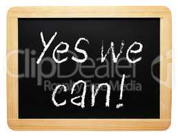Yes we can !