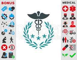 Caduceus Logo Icon