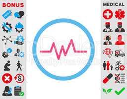 Pulse Monitoring Icon