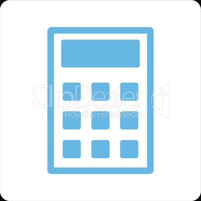 bg-Black Bicolor Blue-White--calculator.eps