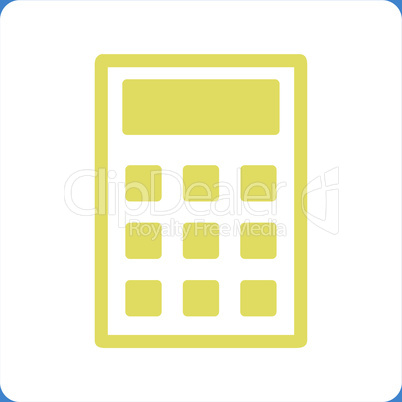 bg-Blue Bicolor Yellow-White--calculator.eps