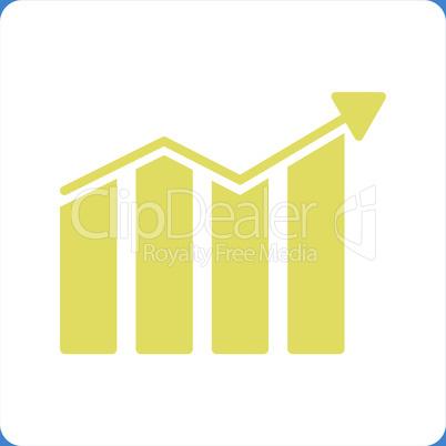 bg-Blue Bicolor Yellow-White--trend.eps