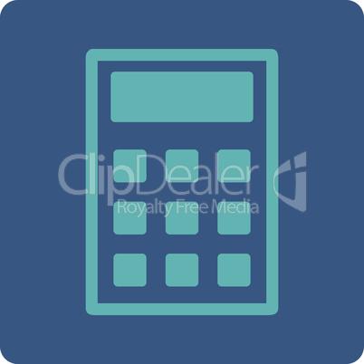 BiColor Cyan-Blue--calculator.eps