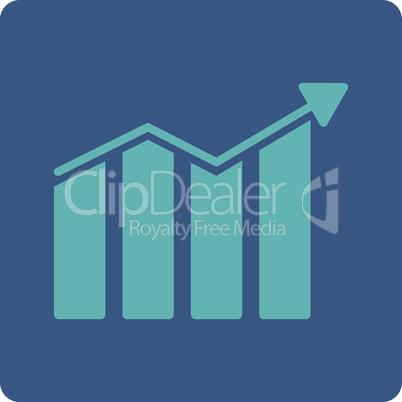 BiColor Cyan-Blue--trend.eps