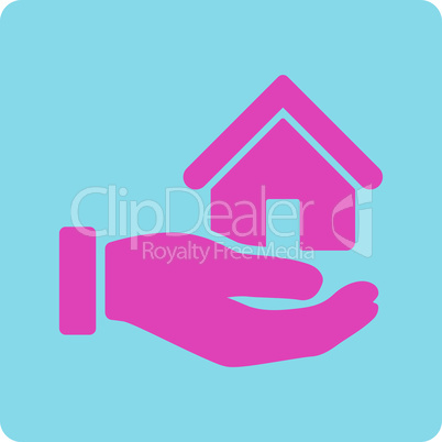 BiColor Pink-Blue--real estate.eps