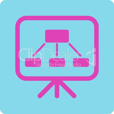 BiColor Pink-Blue--scheme screen.eps