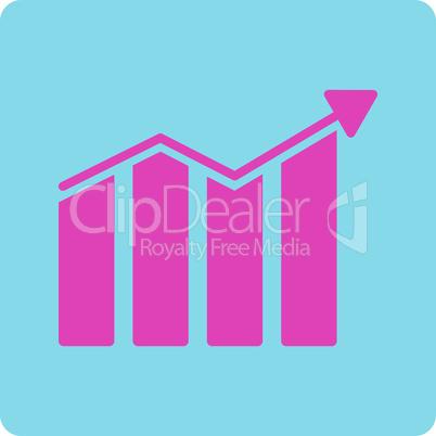 BiColor Pink-Blue--trend.eps