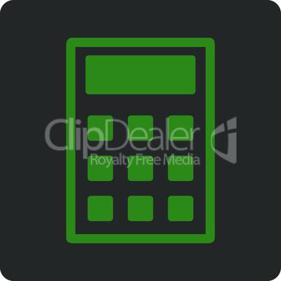 Bicolor Green-Gray--calculator.eps