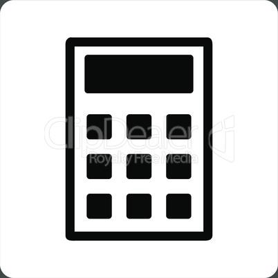 bg-Gray Bicolor Black-White--calculator.eps