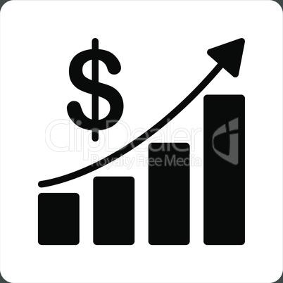 bg-Gray Bicolor Black-White--sales growth.eps