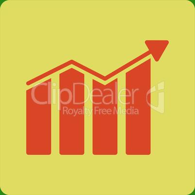 bg-Green Bicolor Orange-Yellow--trend.eps