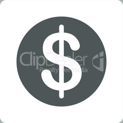 bg-Silver Bicolor Dark_Gray-White--dollar coin.eps