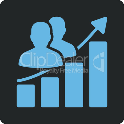 Bicolor Blue-Gray--Audience growth.eps