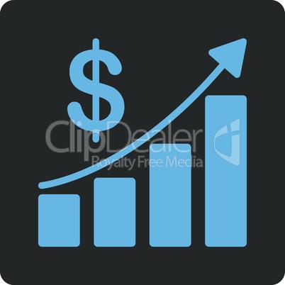 Bicolor Blue-Gray--sales growth.eps
