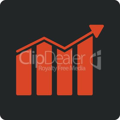 Bicolor Orange-Gray--trend.eps