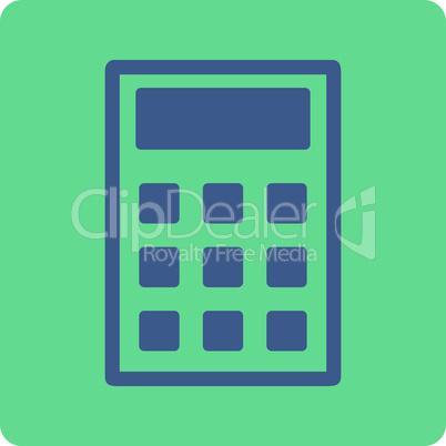 BiColor Cobalt-Cyan--calculator.eps