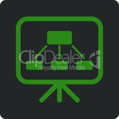 Bicolor Green-Gray--scheme screen.eps