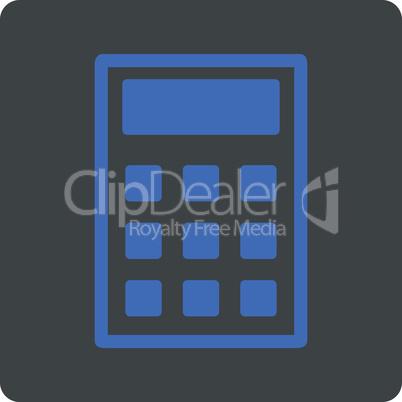BiColor Cobalt-Gray--calculator.eps