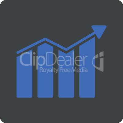 BiColor Cobalt-Gray--trend.eps