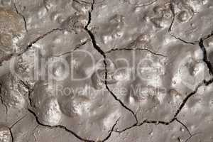 Soft cracked earth background.