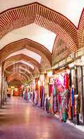Inside of Koza Han Where They Sell Silk