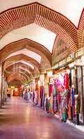 Inside of Koza Han Where They Sell Silk