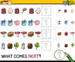 preschool educational pattern task