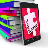 Top Rated Smartphone Shows Internet Number One Or Best Seller