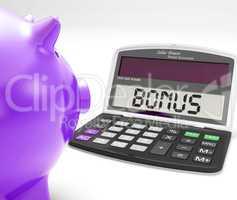 Bonus Calculator Shows Perks Extra Or Incentive