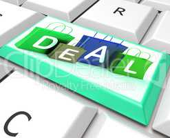 Deal On Computer Key Shows Bargains And Promotions