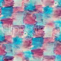 seamless texture watercolor square board blue purple background