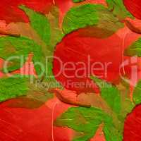 seamless red plum background watercolor brush color water abstract art