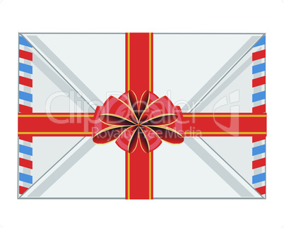 envelope and bow.eps