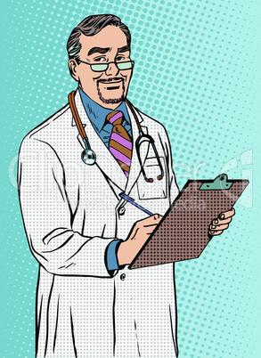 Doctor of medicine Professor therapist