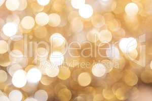 Defocused gold abstract christmas background