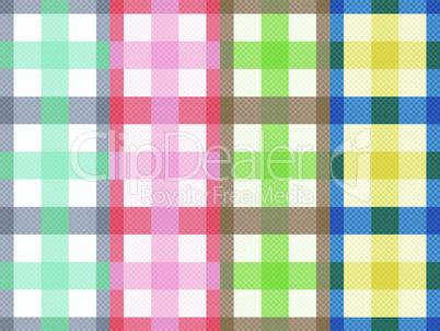 Four rectangular seamless patterns