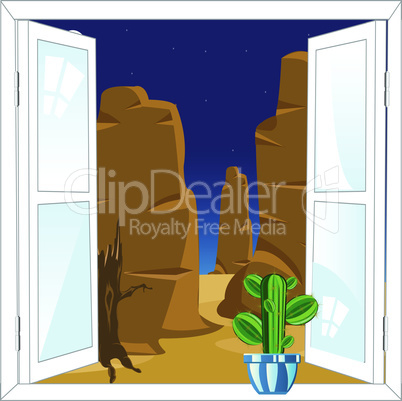 window in desert.eps