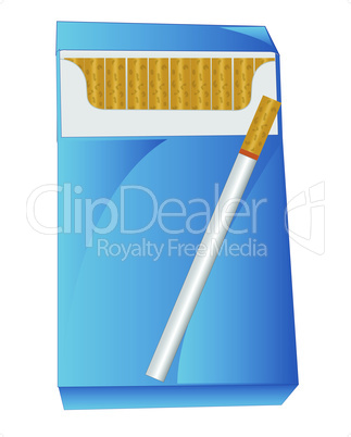 cigarette pack.eps