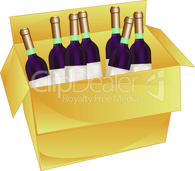 box with wine.eps