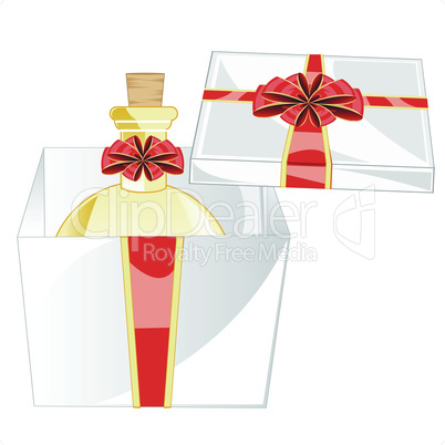 perfume in gift.eps