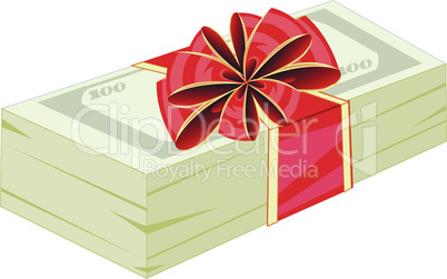 money in gift.eps