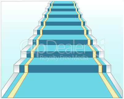 stairway and track.eps